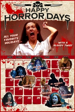 Poster Holidays of Horror