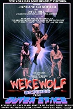 Poster Werewolf Bitches from Outer Space