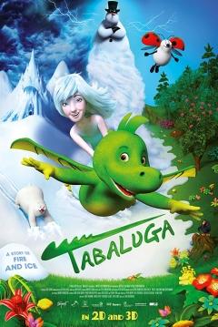 Poster Tabaluga y la Princesa de Hielo