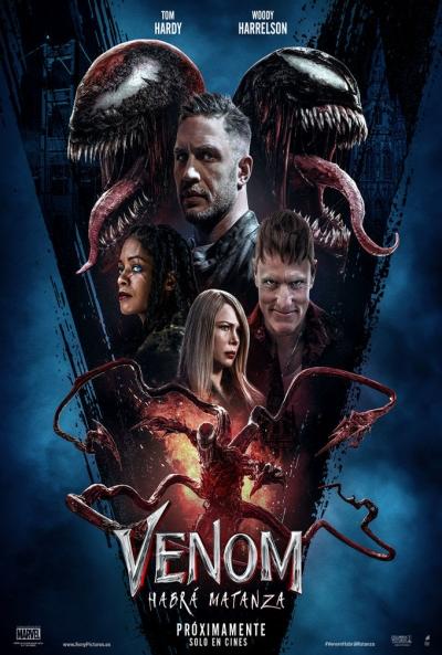 Poster Venom 2: Habrá Matanza