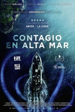 Poster Contagio en Alta Mar