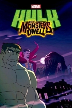 Poster Hulk: Where Monsters Dwell