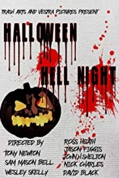 Poster Halloween Hell Night
