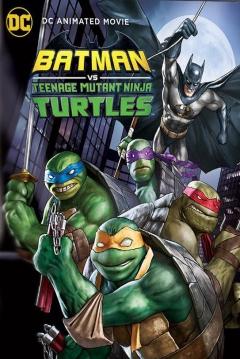 Poster Batman vs las Tortugas Ninja