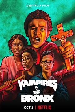 Poster Vampiros contra el Bronx