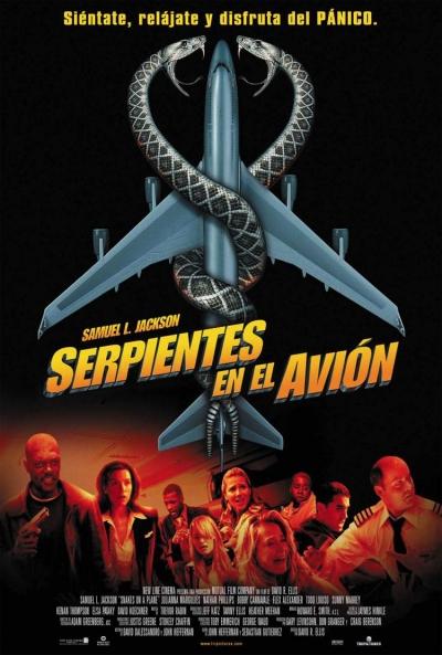 Poster Serpientes en el Avión