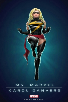 Poster Capitana Marvel 2
