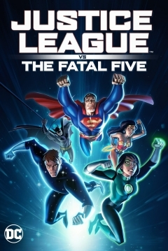 Poster Justice League vs. the Fatal Five