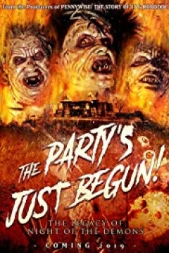 Poster The Party's just Begun: The Legacy of Night of the Demons