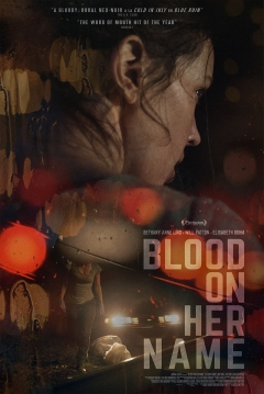 Poster Blood on Her Name