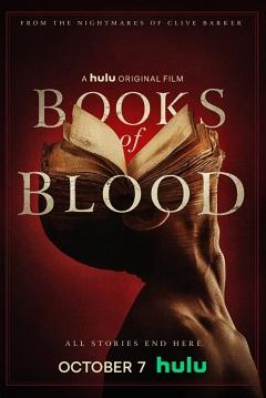 Poster Libros de Sangre