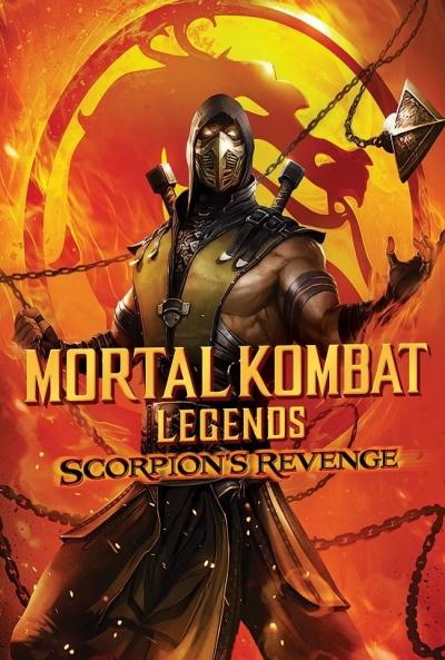 Ficha Mortal Kombat Legends: La Venganza de Scorpion