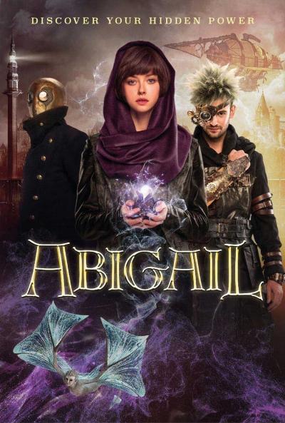 Poster Abigail y la Ciudad Perdida