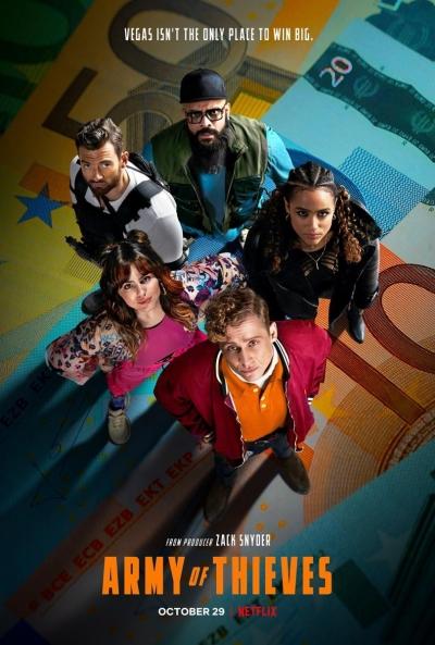 Poster Ejército de los ladrones (Ejército de los Muertos 2)