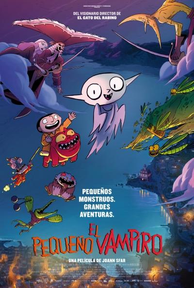 Poster El Pequeño Vampiro