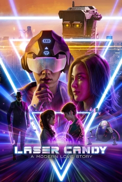 Poster Laser Candy