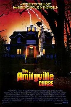 Poster Amityville 5: La Maldición de Amityville