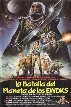 Poster La Batalla del Planeta de los Ewoks (La Batalla de Endor)