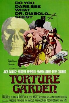 Poster El Jardín de las Torturas