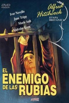 Poster El Enemigo de las Rubias