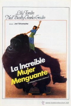Poster La Increíble Mujer Menguante