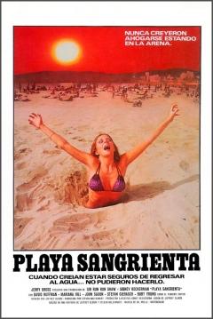 Poster Playa Sangrienta