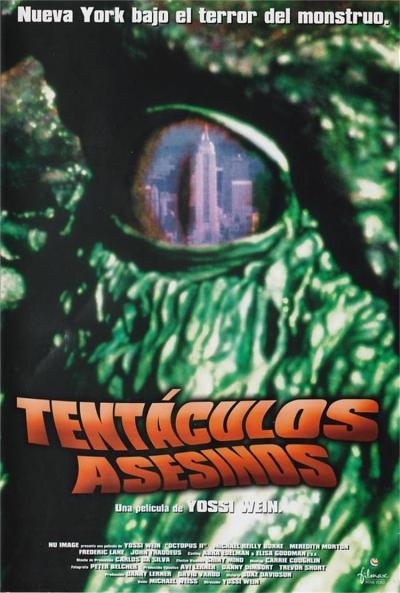 Poster Tentáculos Asesinos
