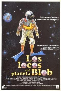 Poster Los Locos del planeta Blob (Ineptos Interplanetarios)