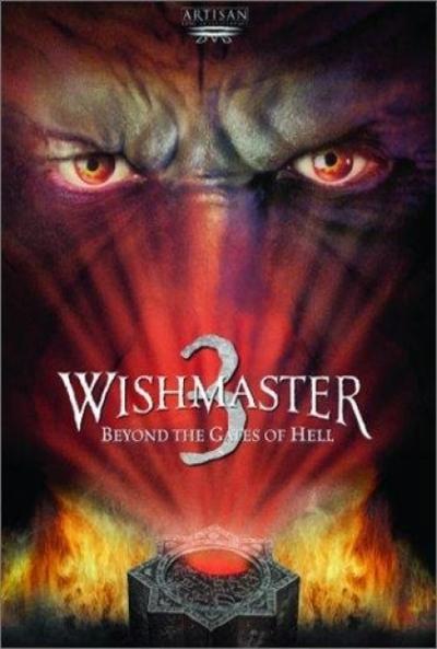 Poster Wishmaster 3: La Piedra del Diablo