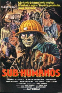 Poster Subhumanos (Sub-Humanos)