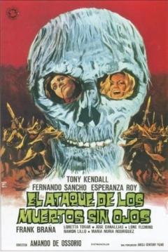 Poster El Ataque de los Muertos sin Ojos