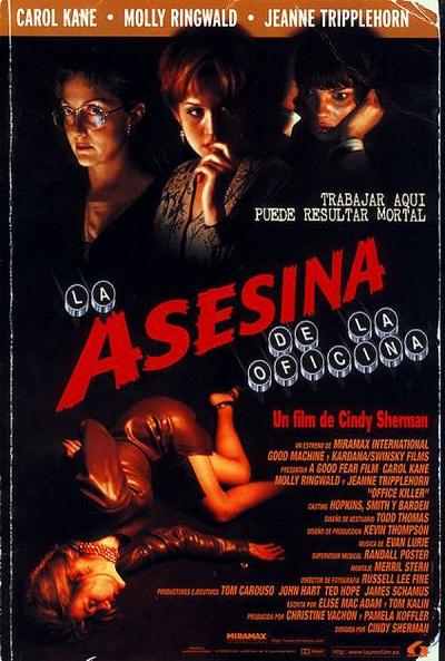 Poster La Asesina de la Oficina