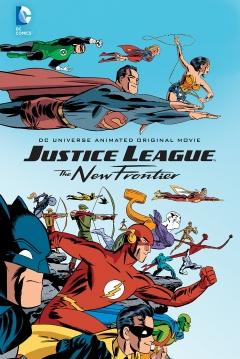 Poster La Liga de la Justicia: La Nueva Frontera