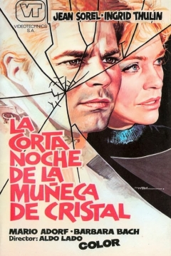 Poster La Corta Noche de las Muñecas de Cristal