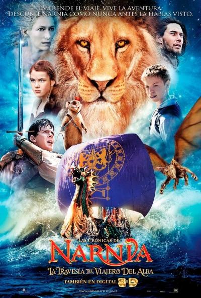 Poster Las Crónicas de Narnia 3: La Travesía del Viajero del Alba