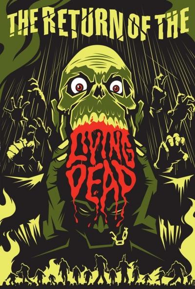 Poster El Regreso de los Muertos Vivientes 6