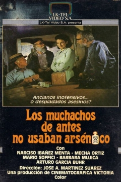 Poster Los Muchachos De Antes No Usaban Arsénico