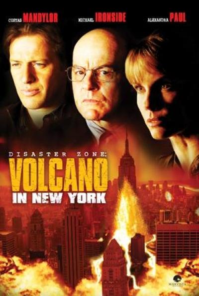 Poster Zona de Desastre: Volcán en Nueva York