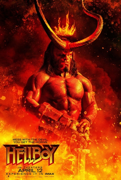 Poster Hellboy (Reboot)
