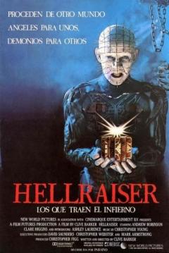Poster Hellraiser: Los que Traen el Infierno