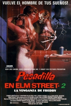 Poster Pesadilla en Elm Street 2: La Venganza de Freddy
