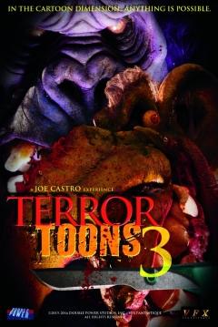 Poster Terror Toons 3