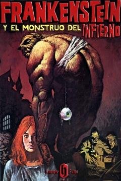 Poster Frankenstein y el Monstruo del Infierno