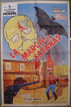 Poster La Marca de Satanás