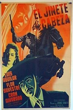 Poster El Jinete sin Cabeza