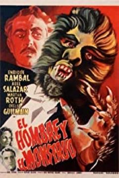 Poster El Hombre y El Monstruo
