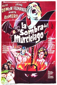 Poster La Sombra Del Murciélago