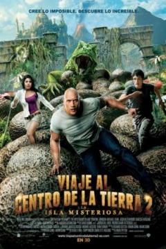 Poster Viaje al Centro de la Tierra 2: La Isla Misteriosa