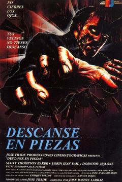 Poster Descanse en Piezas