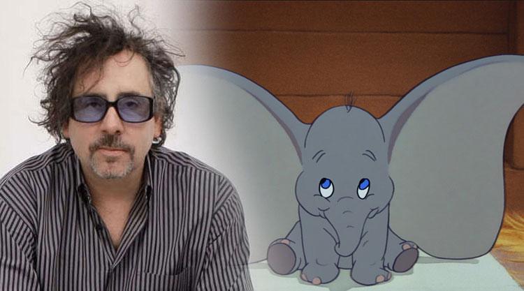 Tim Burton dirigirá la versión de acción real de 'Dumbo'